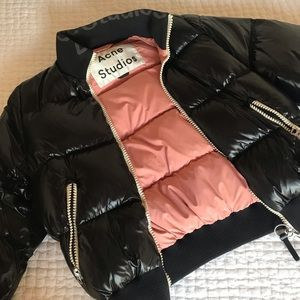 Acne Studios 'Cilla' Quilted Shell Down Jacket
